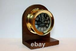 100 YEAR OLD WW1 US NAVY CHELSEA DECK CLOCK NO. 2 CIRCA 1918 ALL S/N's MATCH