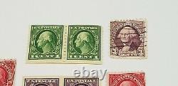 1, 2 & 3 Cent RARE ANTIQUE CENT STAMPS OLD Vintage Washington