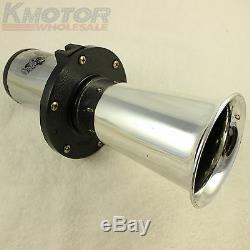 Ahooga Antique Vintage Style 12 Volt Old Fashion Car Horn Hot Rod Klaxon Chrome