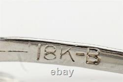 Antique Belais 1920s $4000.75ct Old Euro Diamond 18k White Gold Filigree Ring