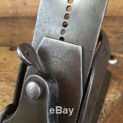 Antique LEONARD VICTOR BAILEY #10 PLANE Vintage Old Handplane Hand Tool #208
