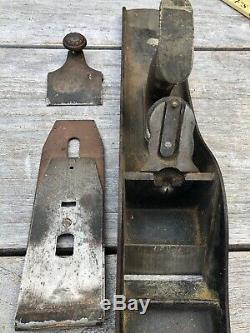 Antique Leonard Victor Bailey #7 Plane Vintage Old Handplane Hand Tool