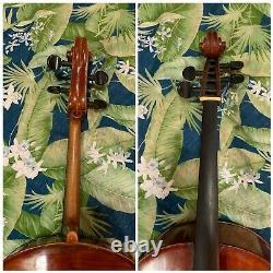 Antique Old Vintage 4/4 Cello 1763