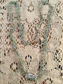 Antique Vintage Jewellery Old Australian Aboriginal Maireener Shell Necklace