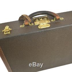 Auth LOUIS VUITTON Cotteville 45 Old Antique Vintage Trunk Hard Case AK26022k