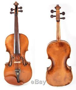 Authentic Old/ Vintage/ Antique 4/4 Master German Violin &casetop Qualityvideo