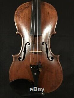C. 1888 Wolff Brothers No. 518 4/4 Full Size Violin Vintage Old Antique Fiddle