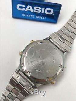 Casio Vintage DW-7100 Wrist Watch Module 913 Mans 200m Rare Retro Old Japan