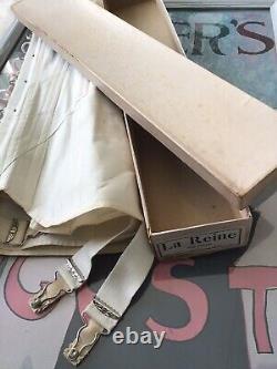Edwardian 1900's La Reine Corset Old Stock In A Box