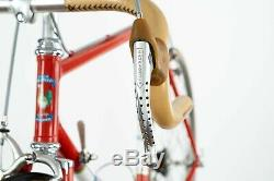 GALMOZZI CAMPAGNOLO SUPER RECORD ROAD BIKE VINTAGE OLD STEEL LUGS 80s CINELLI