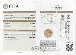 GIA CERTIFIED. 92ct OLD EUROPEAN CUT DIAMOND ENGAGEMENT RING 18K VINTAGE ANTIQUE