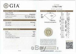 GIA CERTIFIED H SI2 5mm OLD EUROPEAN CUT DIAMOND VINTAGE ANTIQUE 1/2 CARAT. 5ct