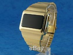 GOLD X-MEN APOCALYPSE 1970s Old Vintage Style LED DIGITAL Rare Retro Mens Watch