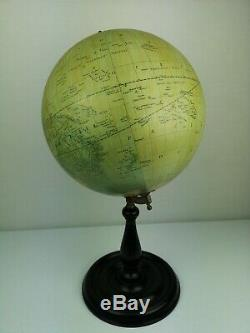 GREAVES AND THOMAS LONDON Old Antique Vintage Globe Ornament Teaching Aid