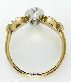 Gia 2.55ct Antique Vintage Old Marquise Diamond Engagement Wedding Ring 18k Yg