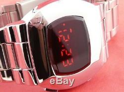JAMES BOND 70s 1970s Old Vintage Style LED LCD DIGITAL Rare Retro Watch P2 S2