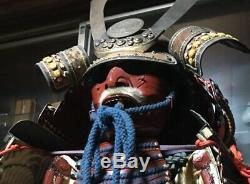 Japanese traditional vintage wearable armor Old samurai iron High class rare 3E