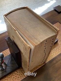 Large Antique 1925 Webster's New International Dictionary Old Vintage Huge Book