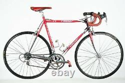 MOSER LEADER AX ORIA CAMPAGNOLO RECORD 8s SPEED STEEL ROAD BIKE VINTAGE OLD