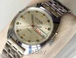 New Automatic Old Stock Slava / Sekonda 2427 Double Calendar Men's Watch