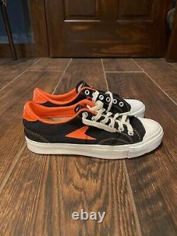 New Old School Vintage Black Wilson Hotshot Bata Mens 7 1/2 Canvas Sneakers USA
