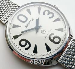 New Old Stock Raketa Big Zero Rare Ussr Watch 2609 Ha Gorbachev Perestroika