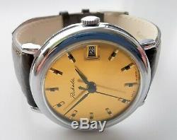 New Old Stock Raketa Russian Ussr Watch 2614 H Rare Luxury Vintage Model