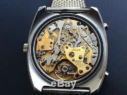 New Old Stock Vintage Thermidor Chronograph with Caliber 12, same as Heuer, Brei