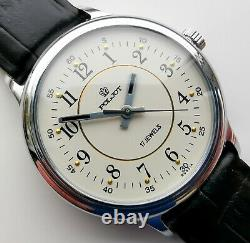 New Vintage Old Stock Poljot Mechanical Watch 2609 Movement Military Style