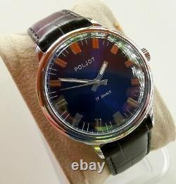 New Vintage Old Stock Ussr Made Poljot Luxury Mechanical Watch 2609 Movement