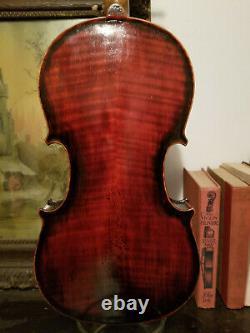 Old French violin labeled Jean Baptiste Vuillaume 366mm vintage antique