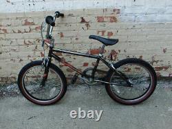 Old School Vintage 1985 Schwinn Predator Nighthawk BMX, Freestyle Bicycle
