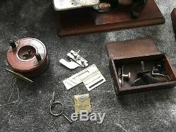 Old Vintage Antique Rare Sewing Machine Wilcox Willcox & Gibbs