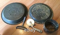 Old Vtg Antique Metal Kitchen Tool Utensil Grater Mixer Sifter Gadget Lot Of 20