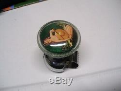 Original 1940' s 1950' s Vintage Accessory Auto Pinup girl Steering wheel knob