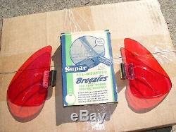 Original 1940' s 1950' s Vintage nos Accessory Supar Vent Window BREEZIES n box