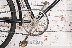 RAR antique vintage bicycle pre war BSA 1909 Nickel England Oldtimer Fahrrad