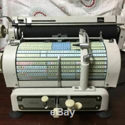 TOSHIBA Japanese old typewriter wabun kanji vintage type japan antique BW3112