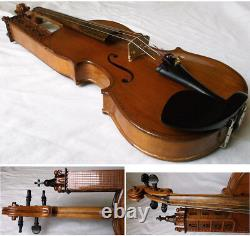 Very Rare Old Italian Violin Giustino Polidoro 1978 Video 107