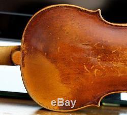 Very old labelled Vintage violin Nicolaus Bergonzi Geige