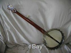 Vintage Antique Banjo Frailing Clawhammer Old Time 5 string