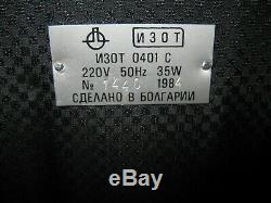 Vintage Antique RaRe 0401 IZOT 0401 C USSR OLD COMPUTER EQUIPMENT