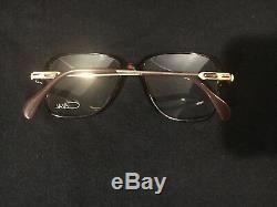 Vintage Cazal 620 Eyeglasses Brown And Gold Frame. (new Old Stock)