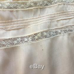 Vintage Edwardian Camisole Corset Cover NOS withtag 100 yrs old Original Ribbon