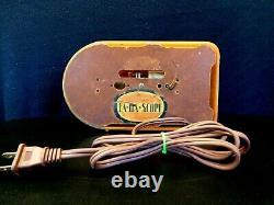 Vintage Gem Mint Pre War 2 Onyx Green Fada Bullet Old Antique Catalin Tube Radio