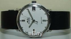 Vintage Mido Oceanstar Powerwind Date Swiss Made Wrist Watch r954 Old Antique