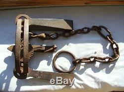 Vintage Newhouse No. 50 Bear Trap Antique Old