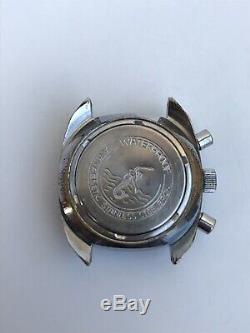 Vintage Ruhla Chronograph Antimagnetic Germany Rare Wrist Watch Old Retro