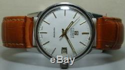 Vintage Tissot Visodate seastar Winding Swiss Wrist Watch S58 Old Used Antique