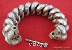 Vintage antique tribal old silver bracelet bangle india